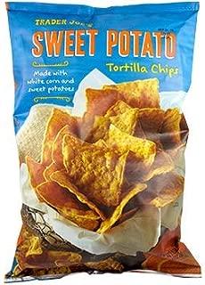 Trader Joes Sweet Potato Tortilla Chips... TWO 12 Oz. Bags