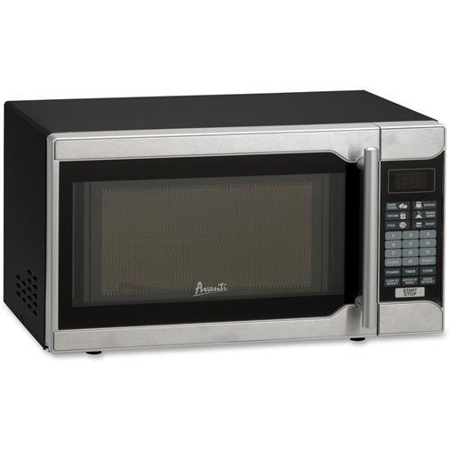 Avanti MO7103SST - 0.7 CF Touch Microwave - Black Cabinet with Stainless Steel Front (MO7103SST)