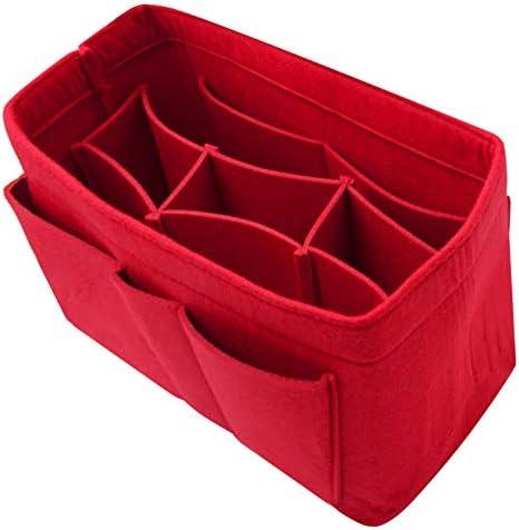 Purse Organizer Insert Felt Handbag Tote Bag in Bag Speedy Neverfull Gracefull product image