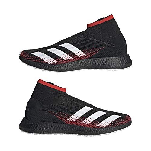 adidas Predator 20.1 TR, Zapatilla, Core Black-White-Active Red, Talla 7.5 UK (41 1/3 EU)