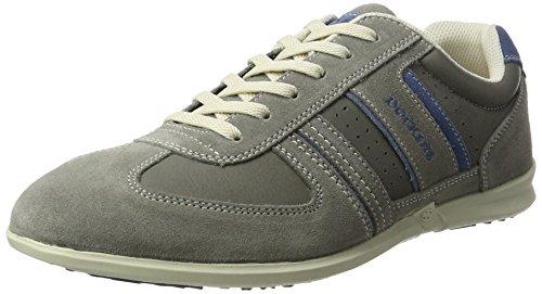 Dockers by Gerli Herren 34sa801-201 Sneaker, Grau (Grau/Blau), 43 EU