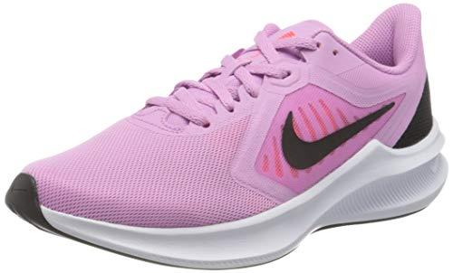 Nike Womens WMNS Downshifter 10 Running Shoe, Beyond PINK/Black-Flash Crimson,38 EU