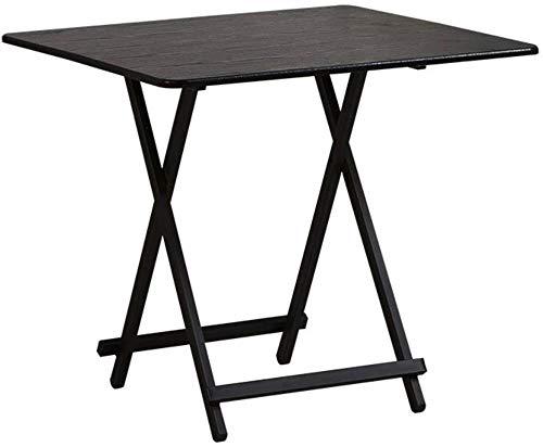 ZhuFengshop Opvouwbare tafel in de vrije natuur beweegbare eettafel, ruimte thuis, kleine aparte tafel, schrijftafel, klaptafel