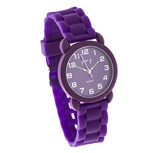 Reloj de Mujer G-Style Correa de Goma Relojes Pulsera (RBW-29)