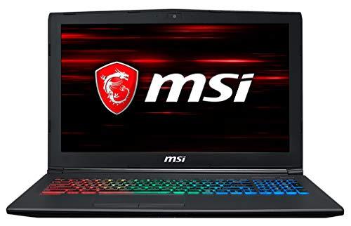 "MSI GF62 8RE-063XES - Ordenador portátil Gaming 15.6"" FullHD 120Hz(Intel Core i7-8750H, 16GB RAM, 1TB HDD + 256GB SSD, Nvidia GeForce GTX 1060 6GB, Sin Sistema Op.) Teclado QWERTY Español"