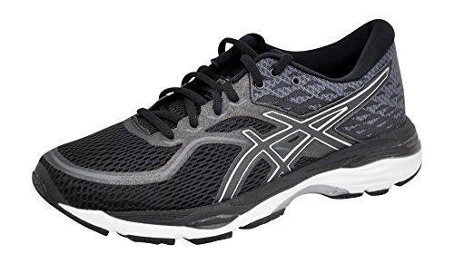 ASICS Women's Gel-Cumulus 19 Running Shoe, Black/White/Black, 9 M US