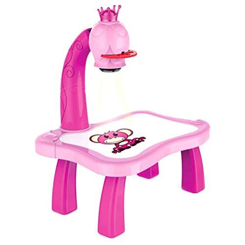 Proyector de dibujo para niños de mesa de dibujo hermoso duradero proyector de pintura de dibujo juguete