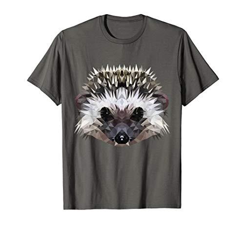 Igel - niedliches Stacheltier - Hedgehog im Polygonstyle T-Shirt