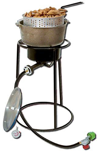 King Kooker 22PKPTC 20-Inch Propane Outdoor Cooker with 6-Quart Cast Iron Pot