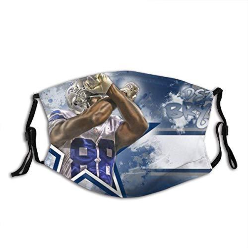 AYGoUP Gesichtsschutz Mundschutz NFL Fußball Sport 12 Wiederverwendbarer Nasenschutz Waschbar staubdicht gegen Verschmutzung