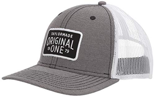 TaylorMade 2019 Lifestyle Trucker Hat, Gray, One Size