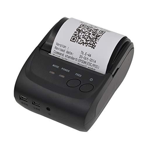 Impresora de Etiquetas Impresora de código de Barras térmicas, POS-5802 Línea Termal Impresora de Recibos de Bluetooth, Impresora de Datos, Liqingshangmao