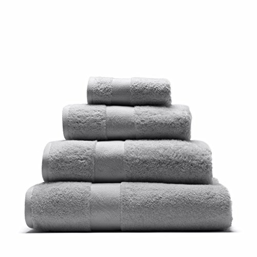 Serviette ultra douce 100 % coton, ombré, 50 x 100 cm