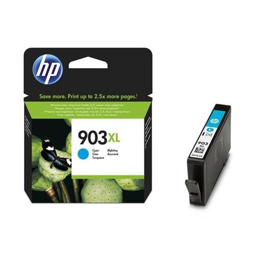 Hewlett Packard HP nº 903X l Cartucho de tinta de alto rendimiento, 825páginas cian Ref t6m03ae 140174