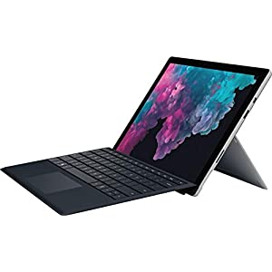 2019 Microsoft Surface Pro 12.3″ Touch Screen Tablet PC Computer, Intel Core m3-7Y30 up to 2.6GHz, 4GB RAM, 128GB SSD, 802.11ac WiFi, Bluetooth 4.1, USB 3.0, Black Keyboard, Windows 10 Home