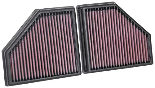K&N Engine Air Filter: High Performance, Premium, Washable, Replacement Filter: 2016-2019 BMW (750i, M550i xDrive, Alpina B7, 750i xDrive), 33-5086