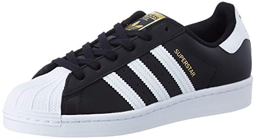 adidas Damen Superstar W Sneaker, Core Black/FTWR White/Core Black, 38 2/3 EU