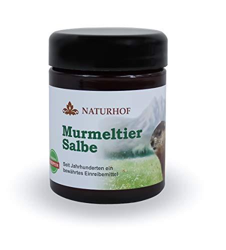 Murmeltier Salbe 100 ml Naturhof Murmeltieröl Pflegend mild nachhaltig spendet Feuchtigkeit