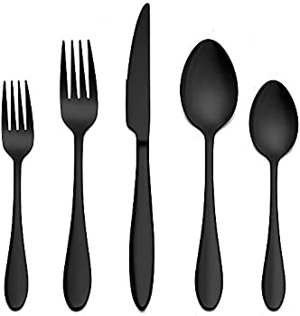 Lianyu 20-Piece Stainless Steel Silverware Cutlery Set, Service for 4