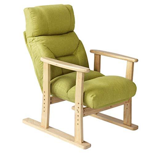 Jsmhh Sillas de Comedor Modernas - Lazy Lounge Chair - Sillón reclinable for Interior/Ancianos/Adultos/niños/Dormitorio/Oficina/Rojo Ajustable 70x65x100CM Adecuado for Sala de Estar, Dormitorio