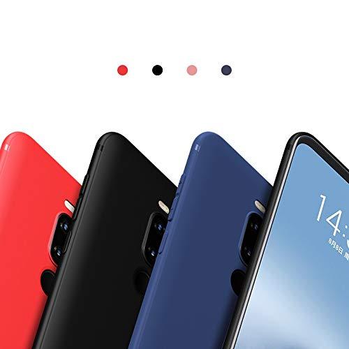 YYMMQQ Handyhülle UPaitou Hülle für MEIZU M8 V8 Lite Pro M9 Note 8 9 X8 Hülle Ultra Thin Back Cover für Meizu X8 Phone Case Hülle-für Meizu M8 Pro-rot