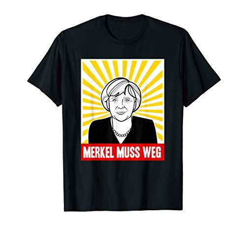 Merkel muss weg hemd | Anti Angela Merkel protest shirt