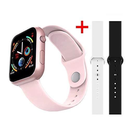 Smartwatch Smartwatch, fitnesstracker, intelligent hartslagmeter, bloeddrukmeter, smartwatch 4 voor Apple iOS Android Phone activiteitstracker, Zwart