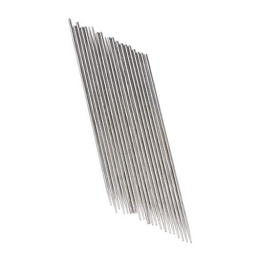 20 Stücke Federdraht Stahl Nadel Saxophon Feder Nadel Reed Nadel Instrument - Silber 0,9