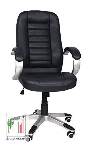 Stil Sedie sedia poltrona ufficio ergonomica girevole Modello Sidney