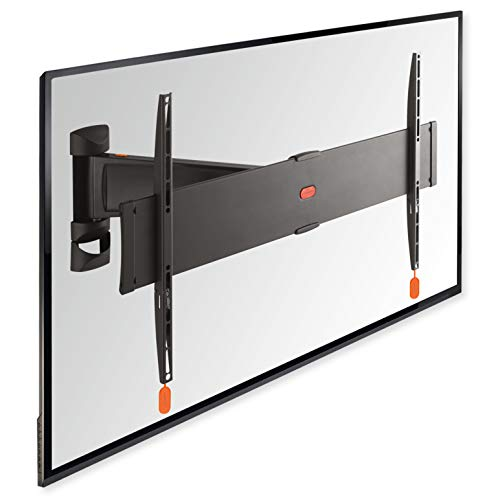VOGEL'S BASE 25L - TV Wandhalterung für 40-65 Zoll größe Fernseher, Wandhalter, 120° Schwenkbar, Fernsehhalterung für die Wand, VESA 600x400, Universelle Kompatibilität, Halterung max. 45 kg