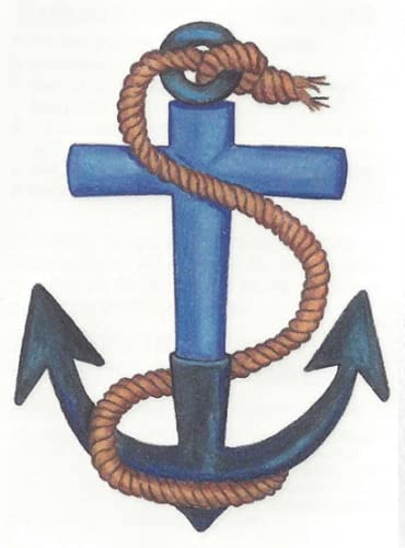 ANCHOR Indefinitely BLUE WITH Outlet ☆ Free Shipping ROPE 3