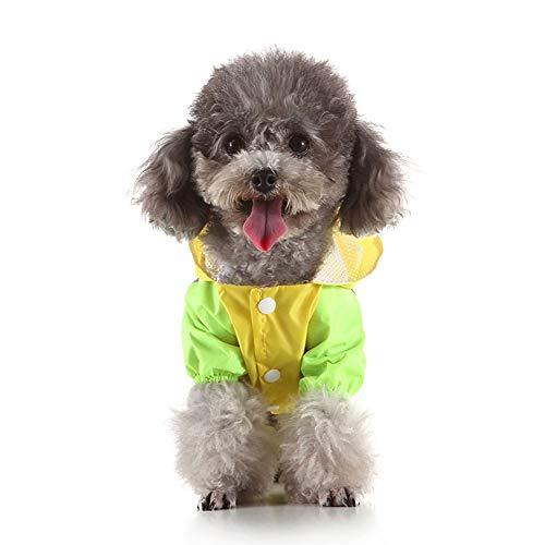 Waterdichte regenponcho regenjas met diermotieven voor honden en huisdieren, waterdicht, Otto-types