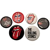 Rolling Stones The Pack de chapas (Talla Única) (Multi-colour)