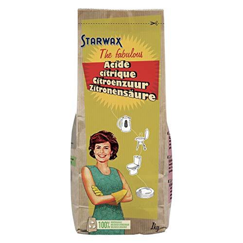 STARWAX FABULOUS Acide citrique 1kg - Idéal pour détartrer