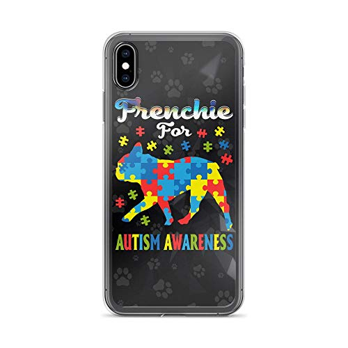 Compatible for iPhone 6/6s Case French Bulldog Puppy Autism Awareness TPU Anti-Scratch