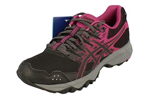Asics Gel-Sonoma 3, Zapatillas de Running para Asfalto para Mujer, Multicolor (Black/Baton Rouge/Black 9032), 37 EU