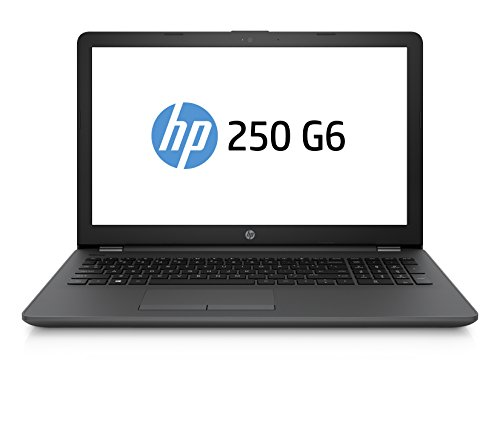 "HP 250 G6 Notebook PC, Intel Core i5-7200U, RAM da 4 GB DDR4, HDD SATA da 500 GB, Display da 15.6"", Argento/Cenere Scuro"