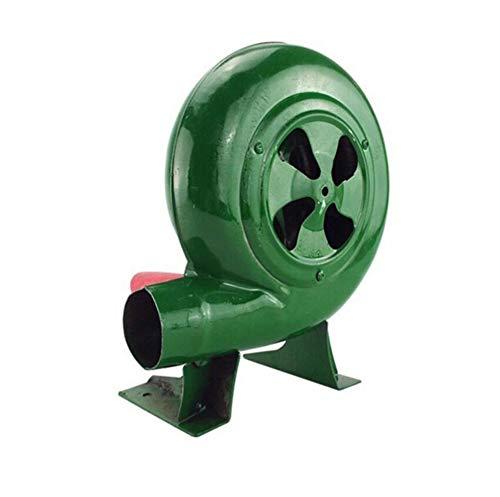 WTZFHF Ventilador de Barbacoa Manual Soplador de forja Manual Manivela de Fuelle de Mano Parrilla Encendedores de Barbacoa Encendedor de carbón Herramientas al Aire Libre Verdes 80-350W