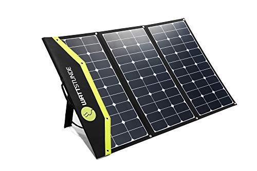 WATTSTUNDE Sunfolder Solartasche - Mobiles 12V Outdoor Solarpanel - faltbares Solarpanel ohne Laderegler (180W)