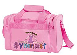 Dansbagz Geena Gymnast Square Duffel Bag One Size Pink