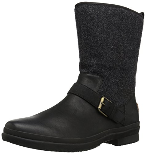 UGG Women's Robbie Fashion Sneaker,Black,6.5 M US