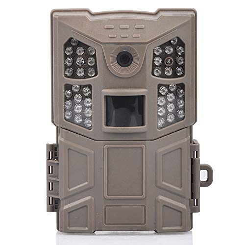 ?NEW VERSION?WOSPORTS Trail Camera 16MP 1080P Hunting Game Camera, Wildlife Camera with Upgraded 850nm IR LEDs Night Vision 65ft, 2.0LCD for Home Security Wildlife Monitoring/Hunting (Trail Camera)