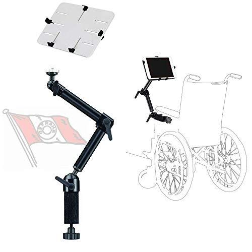 Onyx SL-WPL Halter aus Aluminium Tischklemme Tablet iPad Reader Kindle Kamera 10-16 Zoll für Tisch Bett Rollstuhl Büro Schule