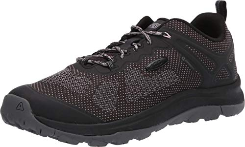 KEEN womens Terradora 2 Vent Low Height Hiking Shoe, Black/Steel Grey, 7 US