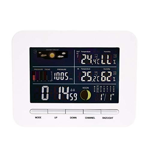 Love lamp Digital Hygrometer Thermometer Multifunktions-Temperatur-Feuchtemessgerät Funkwetterstation Indoor Outdoor Tester