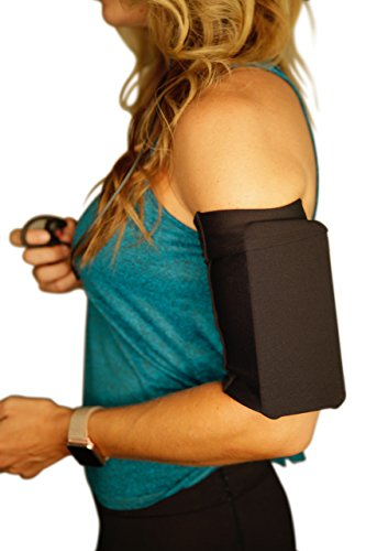 """MÜV365 Armband for Phone Running, Jogging, Workout - Fits iPhone 11, X/10, 8, 7, 6, 6S, Plus Sizes Samsung Galaxy S10, S9, S8, S7, S6, A8, Note 8 and All Phones with Case Up to 7"""" for Women and Men"""