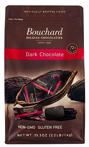 Bouchard Chocolat Noir Belge Sans Gluten 72% Cacao (1000g)