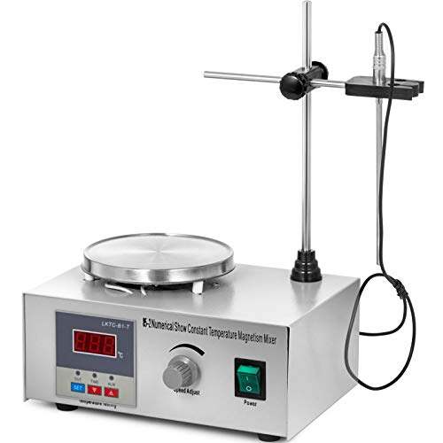 BananaB 85-2 magnetic stirrer Mixer hot plate 1000ml Digital magnetrührer Magnetmischer 300W Digital Display Magnetic Stirrer Mixer