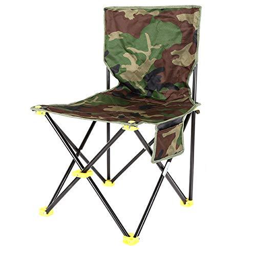 WANGLXFC Jardin Chaise Pliante Chaise de Camping Portable- Chaises Pliantes compactes Ultra-légères de Transport, pour randonneurs, Camping, Plage, Plein air Portatif, Flat Stool