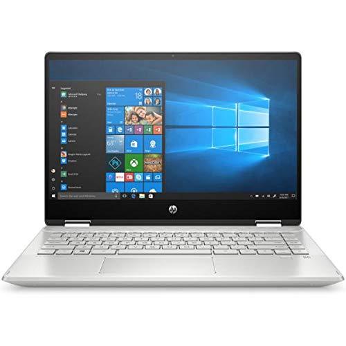 HP Notebook Pavilion X360 14-DH1018NS - W10 - I7-10510U 1,8 GHz - 8 GB - 512 GB SSD - Geforce MX250 2-14 Zoll - 35,5 cm FHD Touchscreen - kein ODD - Silber